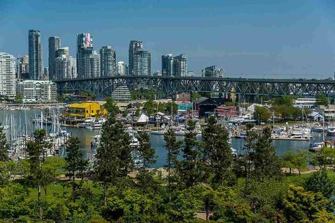 Condo for sale at 1470 Pennyfarthing Dr Unit 706 Vancouver British Columbia - MLS: R2404434