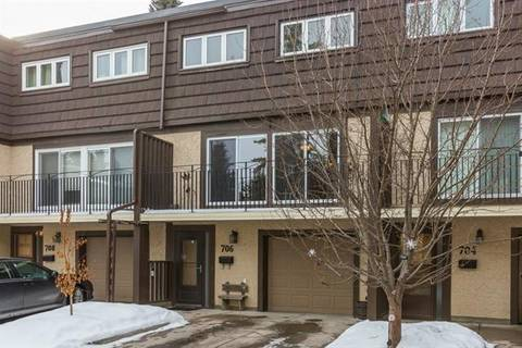 Townhouse for sale at 3130 66 Ave Southwest Unit 706 Calgary Alberta - MLS: C4286507