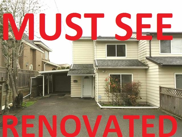 For Sale: 7060 No 1 Road, Richmond, BC | 4 Bed, 2 Bath Townhouse for $978,000. See 15 photos!