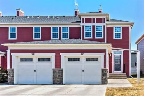 Townhouse for sale at 155 Silverado Skies Li Southwest Unit 707 Calgary Alberta - MLS: C4235896
