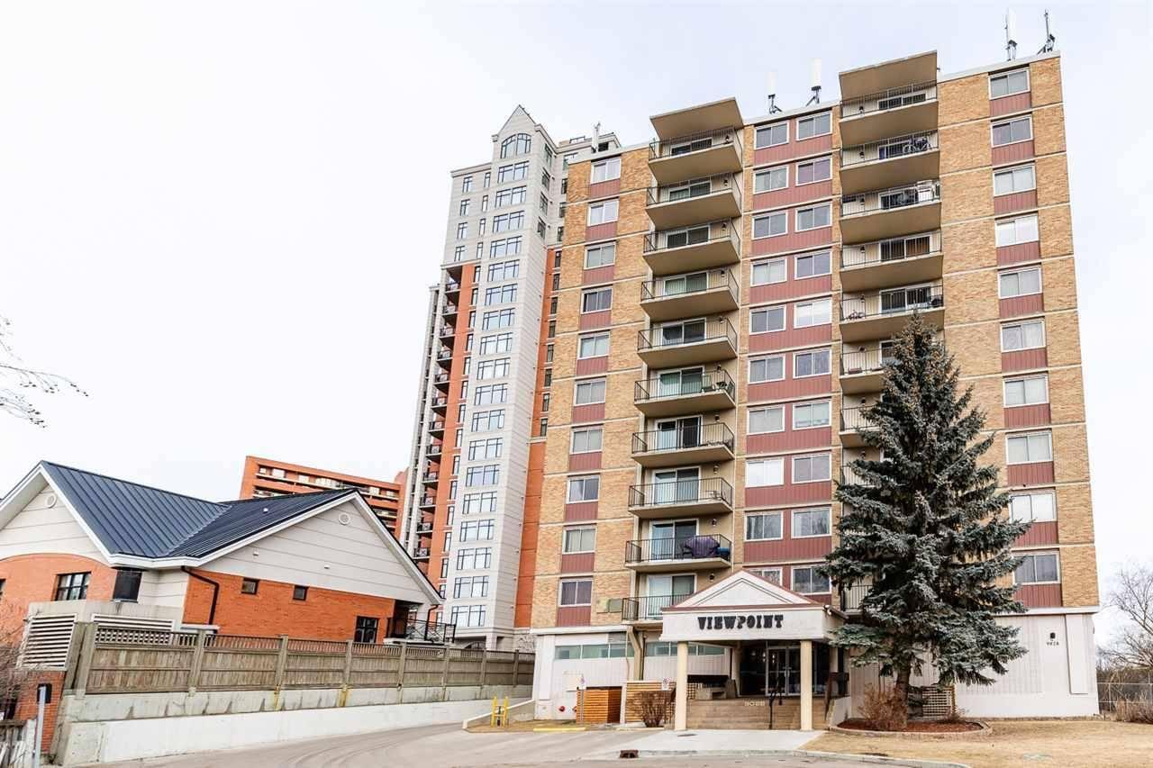 Condo for sale at 9028 Jasper Ave Nw Unit 707 Edmonton Alberta - MLS: E4190504