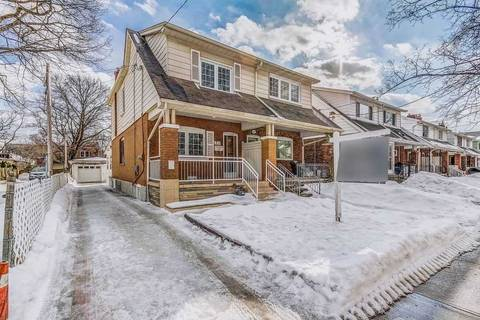 Townhouse for sale at 707 Milverton Blvd Toronto Ontario - MLS: E4457349