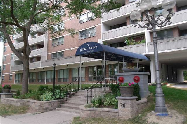 For Sale: 708 - 20 Gilder Drive, Toronto, ON | 2 Bed, 1 Bath Condo for $326,000. See 10 photos!