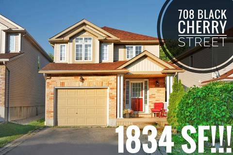 House for sale at 708 Black Cherry St Waterloo Ontario - MLS: X4531119