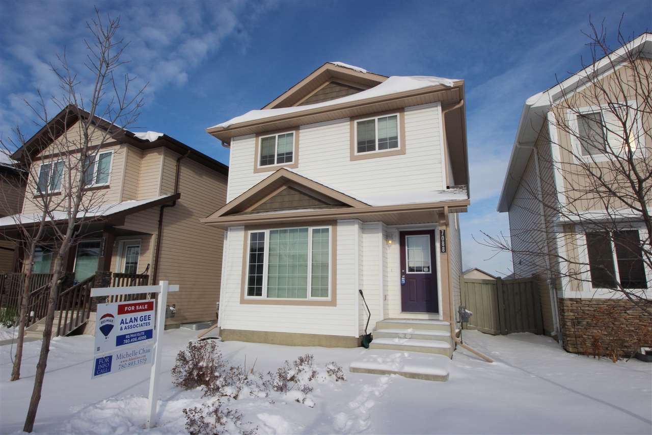 For Sale: 7088 Cardinal Way, Edmonton, AB | 3 Bed, 3 Bath House for $356,800. See 23 photos!