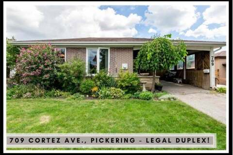 House for sale at 709 Cortez Ave Pickering Ontario - MLS: E4904872