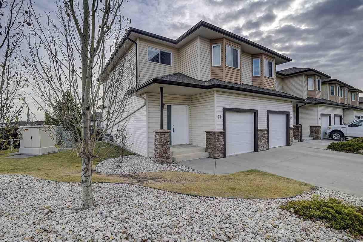 Townhouse for sale at 171 Brintnell Bv NW Unit 71 Edmonton Alberta - MLS: E4223209