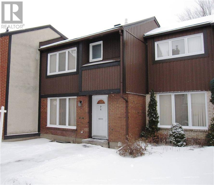 Townhouse for sale at 1900 Marquis Ave Unit 71 Ottawa Ontario - MLS: 1179190