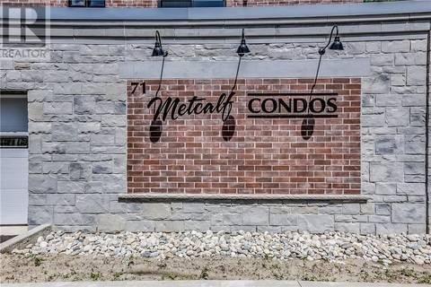 Apartment for rent at 401 Metcalfe St Unit 71 Woodstock Ontario - MLS: 204192