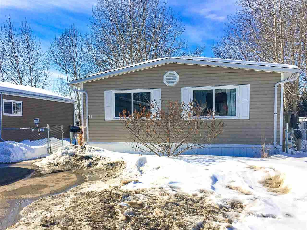 For Sale: 71 - 4405 50 Avenue, Cold Lake, AB | 2 Bed, 2 Bath Home for $60,000. See 1 photos!