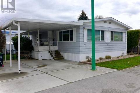 Home for sale at 999 Burnaby Ave Unit 71 Penticton British Columbia - MLS: 177507