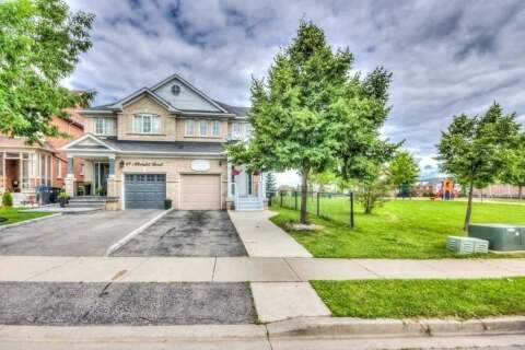 Townhouse for sale at 71 Albright Rd Brampton Ontario - MLS: W4860611