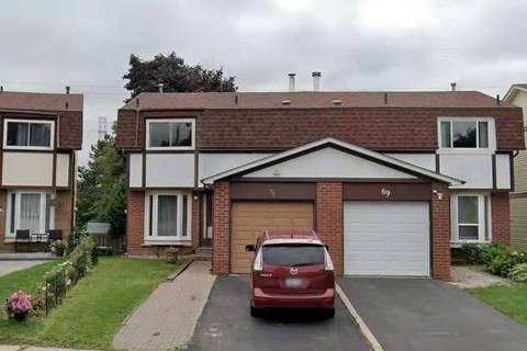 Townhouse for sale at 71 Barnwell Dr Toronto Ontario - MLS: E4671438