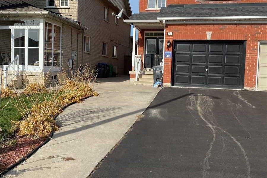 Townhouse for rent at 71 Big Moe Cres Brampton Ontario - MLS: W4969282