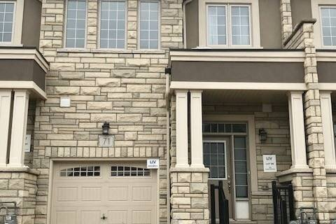 Townhouse for rent at 71 Bilanski Farm Rd Brantford Ontario - MLS: X4999168