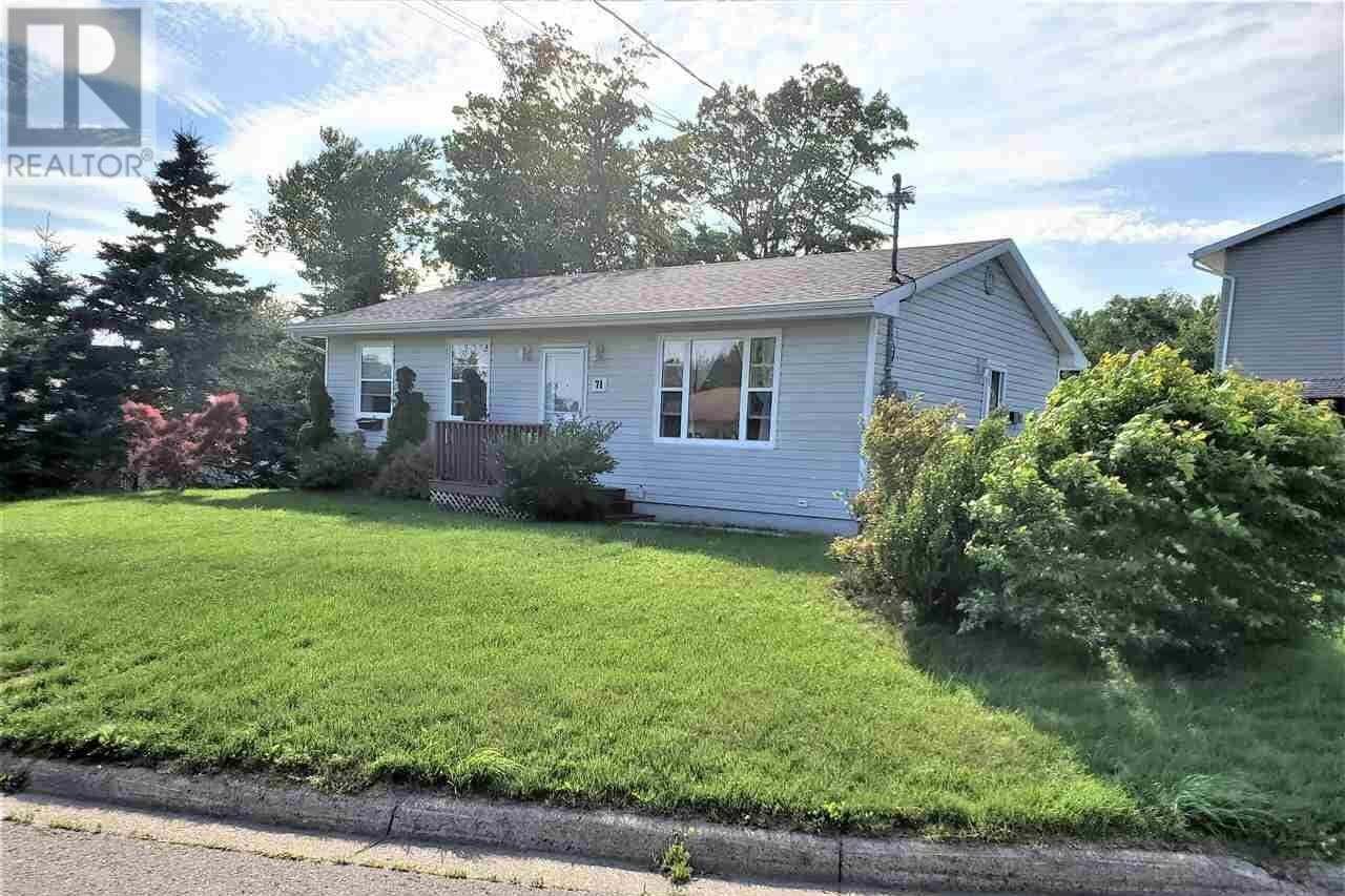 House for sale at 71 Bristol Dr Sydney Nova Scotia - MLS: 202013665