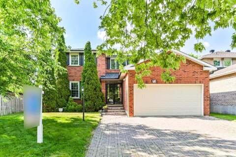 House for sale at 71 Crystal Dr Richmond Hill Ontario - MLS: N4812192