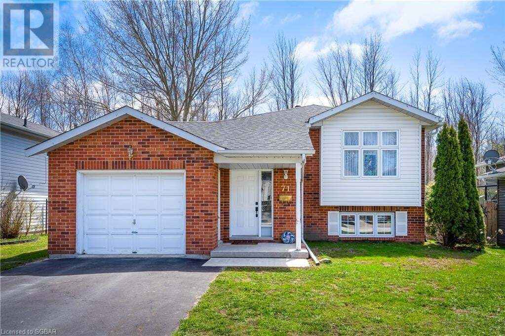 House for sale at 71 Dillon Dr Collingwood Ontario - MLS: 257107