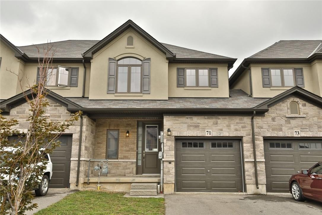Townhouse for sale at 71 Dodman Cres Ancaster Ontario - MLS: H4084293