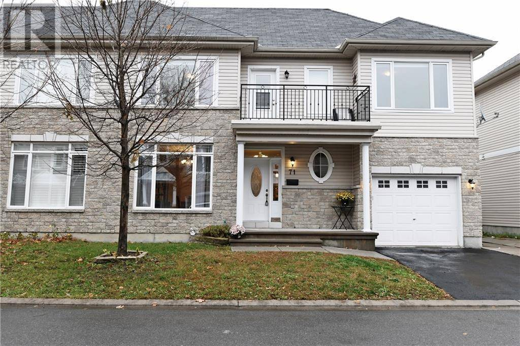 Townhouse for sale at 71 Emerald Pond Pt Ottawa Ontario - MLS: 1174134