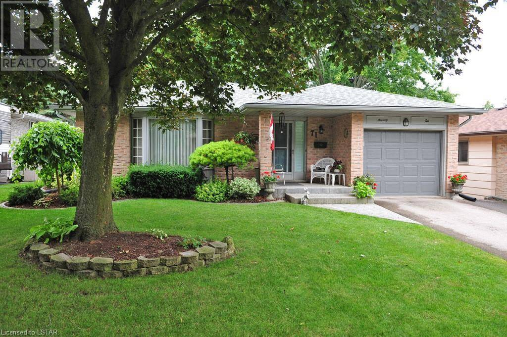 House for sale at 71 Fairlane Rd London Ontario - MLS: 212127