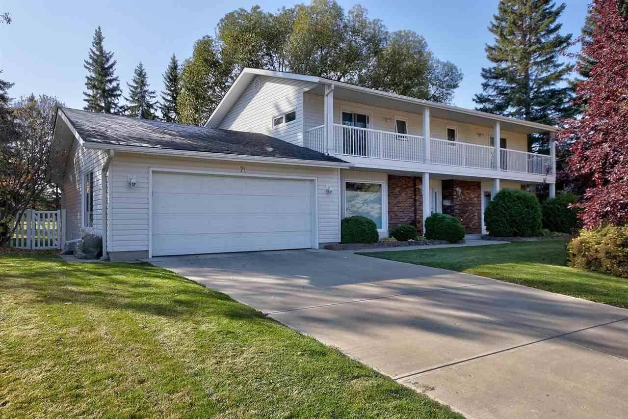 House for sale at 71 Fairway Dr Nw Edmonton Alberta - MLS: E4181930