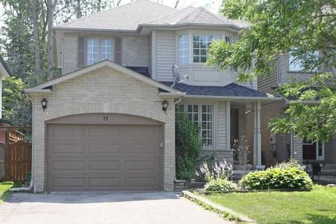 House for sale at 71 Fieldcrest Ave Clarington Ontario - MLS: E4551763