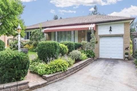House for rent at 71 Georgina Ave Ajax Ontario - MLS: E4717468