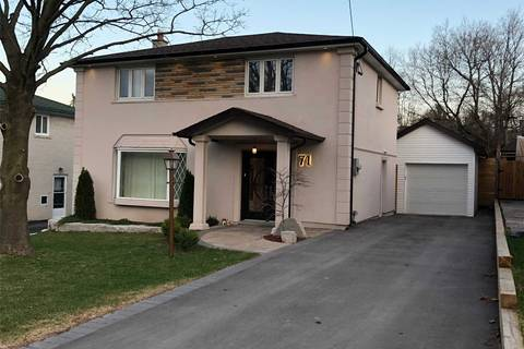 House for sale at 71 Grandview Ave Markham Ontario - MLS: N4425003