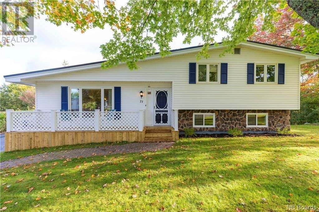 House for sale at 71 Highland Dr Hampton New Brunswick - MLS: NB045431