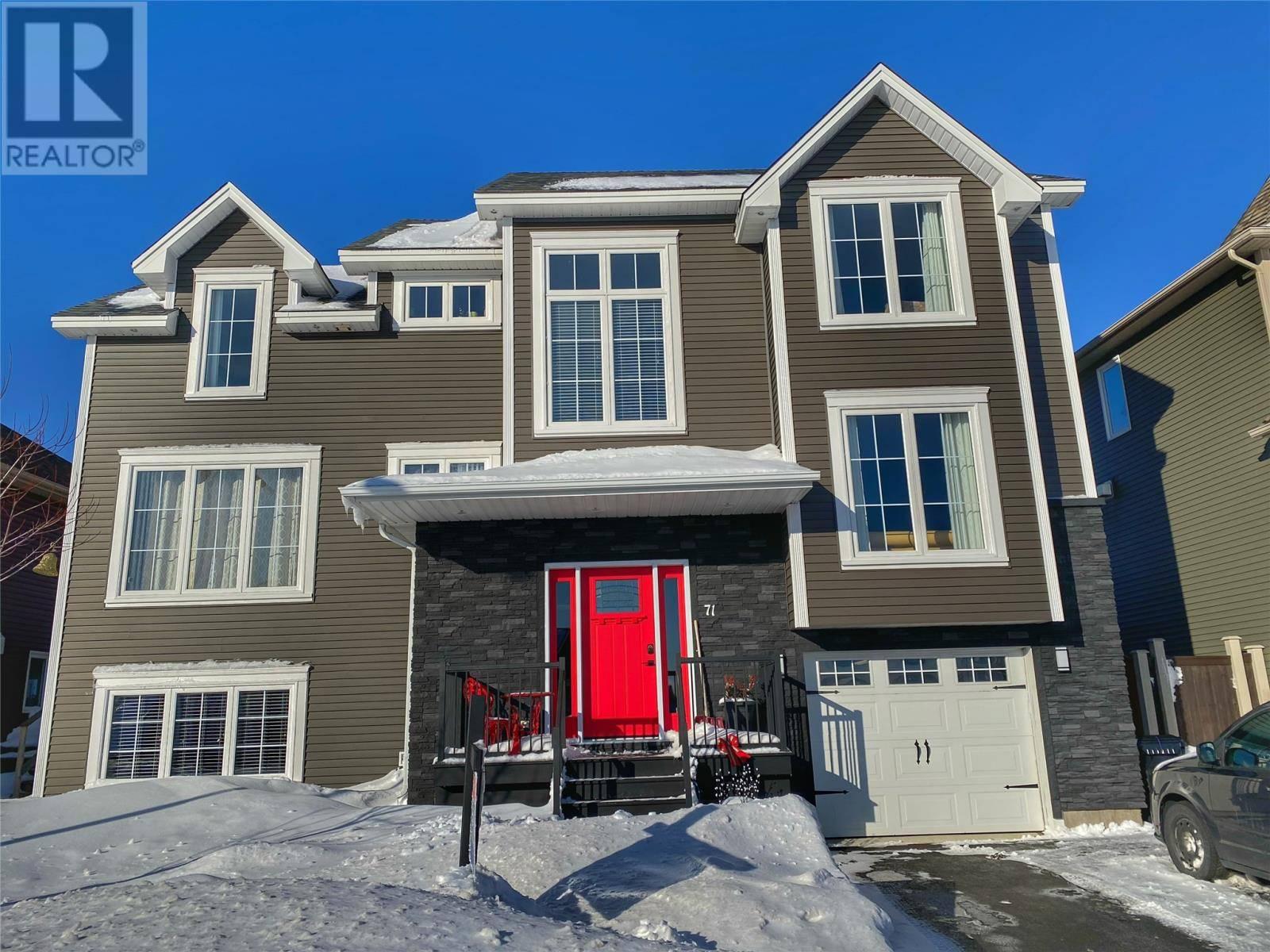 House for sale at 71 Julieann Pl St. John's Newfoundland - MLS: 1203151