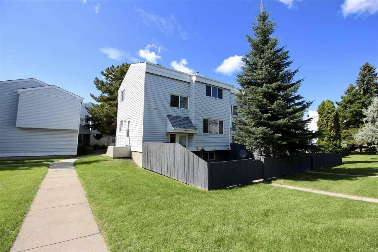 Townhouse for sale at 71 Mcleod Pl Nw Edmonton Alberta - MLS: E4171153