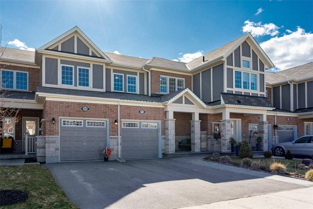 Townhouse for sale at 71 Mcmonies Dr Waterdown Ontario - MLS: H4076143