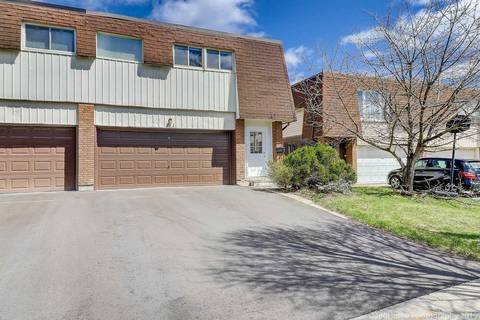 Townhouse for sale at 71 Mintwood Dr Toronto Ontario - MLS: C4428331