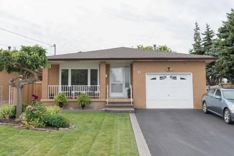 House for sale at 71 Morgan Rd Hamilton Ontario - MLS: X4601928