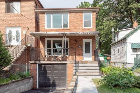 House for sale at 71 Patterson Ave Toronto Ontario - MLS: E4517773