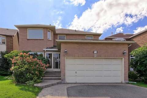House for sale at 71 Rimmington Dr Vaughan Ontario - MLS: N4914727