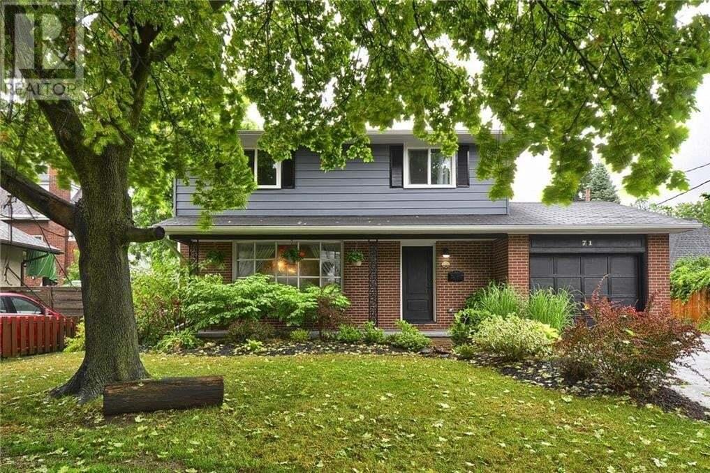 House for sale at 71 Salisbury Ave Cambridge Ontario - MLS: 30826825