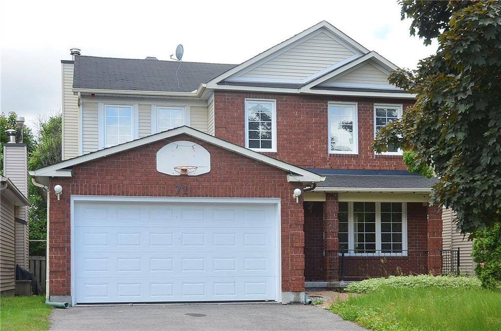 House for sale at 71 Topley Cres Ottawa Ontario - MLS: 1165078