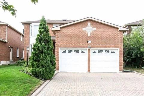 House for rent at 71 Valleymede Dr Richmond Hill Ontario - MLS: N4601119