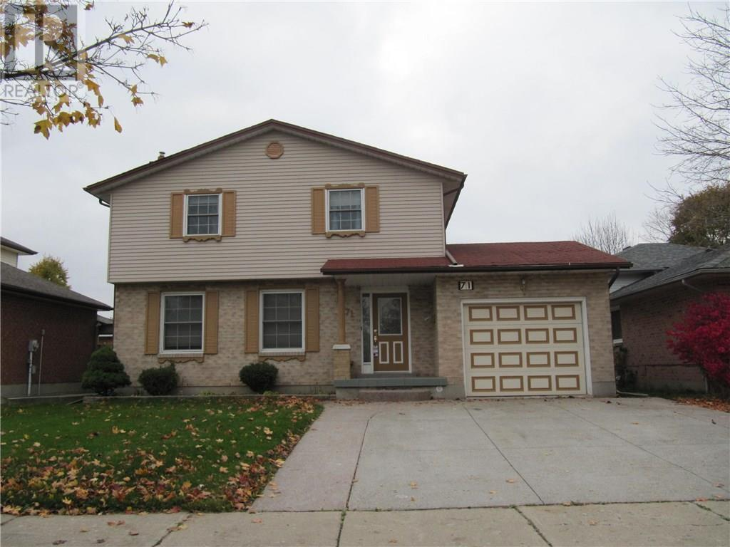 Removed: 71 West Acres Crescent, Kitchener, ON - Removed on 2019-11-20 06:30:03