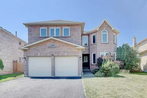 House for sale at 71 Willowbrook Dr Whitby Ontario - MLS: E4816496