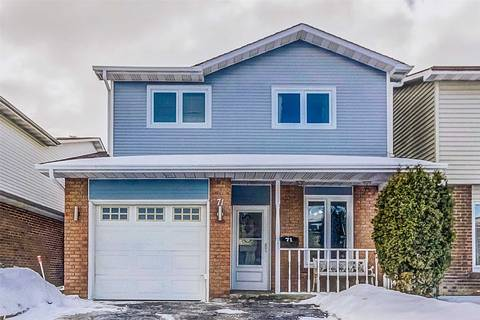 House for sale at 71 Winterfold Dr Brampton Ontario - MLS: W4377293