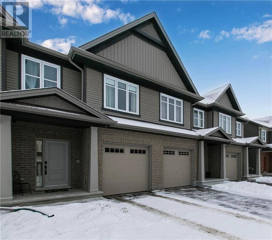 Townhouse for sale at 710 Sora Wy Ottawa Ontario - MLS: 1179257