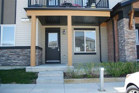 Townhouse for sale at 2781 Chinook Winds Dr Southwest Unit 7103 Airdrie Alberta - MLS: C4247824