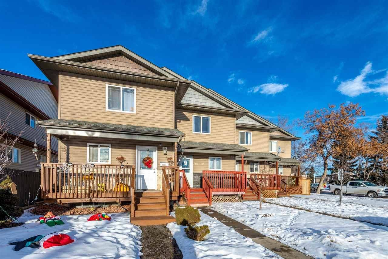 Townhouse for sale at 7108 127 Ave Nw Edmonton Alberta - MLS: E4182895