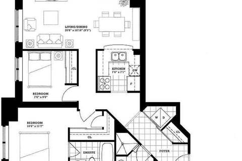 Apartment for rent at 2391 Central Park Dr Unit 711 Oakville Ontario - MLS: W4609164