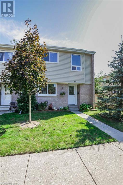 Townhouse for sale at 39 Osgoode Dr Unit 711 London Ontario - MLS: 222588