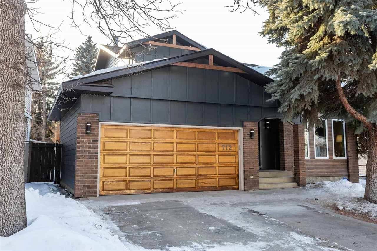 House for sale at 712 Hendra Cres Nw Edmonton Alberta - MLS: E4191939