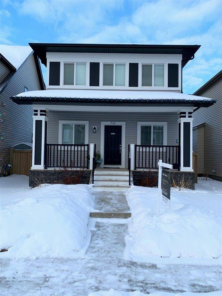 House for sale at 712 Secord Blvd Nw Edmonton Alberta - MLS: E4185759